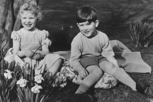 Prince Charles and Princess Anne as Children at Balmoral, 28th September 1952 by Lisa Sheridan