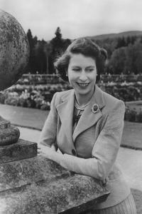 Queen Elizabeth II at Balmoral, 28th September 1952 by Lisa Sheridan