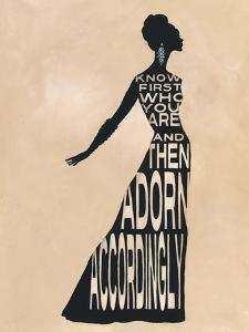 Text Dress by Lisa Vincent