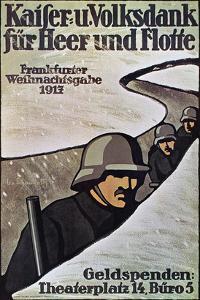 WWI: German Poster, 1917 by Lisa von Schauroth