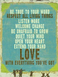 Be True Love Big by Lisa Weedn