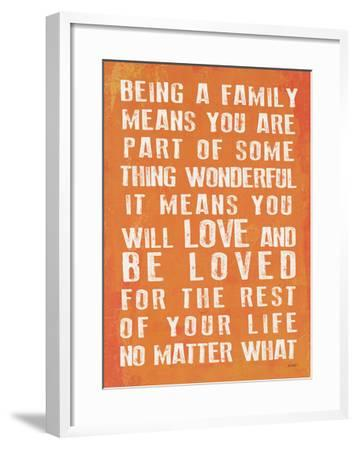 Being A Family - Coral