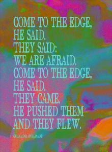 Come To The Edge by Lisa Weedn