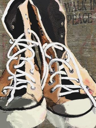 High Tops for Peace - Vintage Sneakers by Lisa Weedn