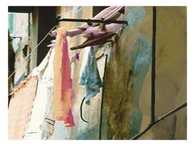 Italian Laundry Street Art