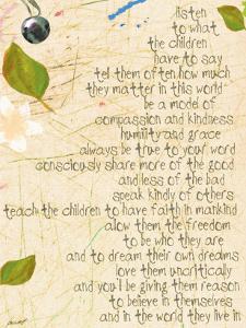 Listen to the Children by Lisa Weedn