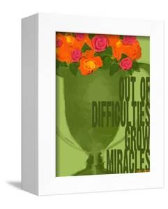 Miracles Vintage Green Trophy by Lisa Weedn