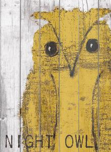 Night Owl Yellow by Lisa Weedn