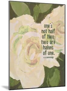 Ones Not Half by Lisa Weedn