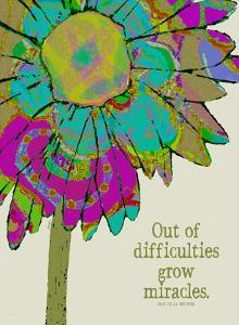 Out Of Difficulties by Lisa Weedn
