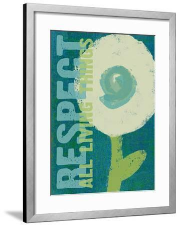 Respect All Living Things - Green