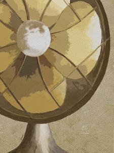 Stay Cool Vintage Fan by Lisa Weedn