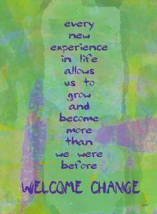 Welcome Change by Lisa Weedn