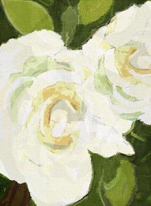 White Floral by Lisa Weedn