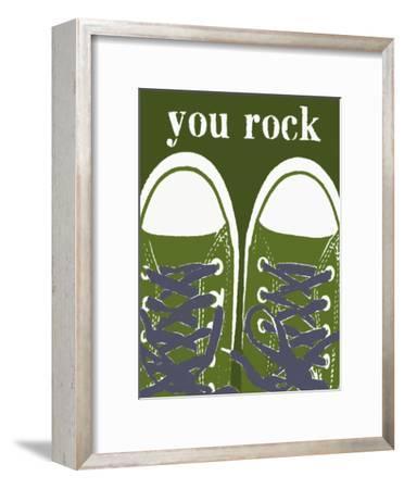 You Rock Green Sneakers