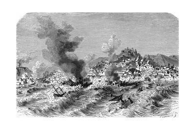 Lisbon Earthquake, 19th Century Artwork-Science Photo Library-Giclee Print