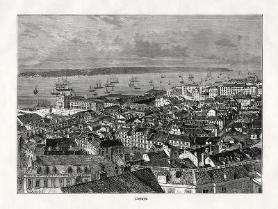 Lisbon, Portugal, 1879- Laplante-Giclee Print