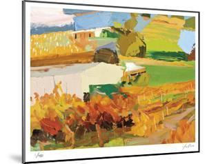 Autumn Vines by Lise Temple