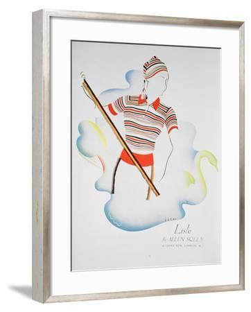 Lisle by Allen Solly, Fashion Advert, 1937--Framed Giclee Print