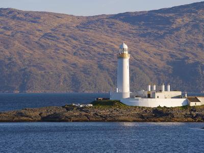 Lismore Lighthouse From the Craignure-Oban Ferry, Highlands, Scotland, United Kingdom, Europe-Patrick Dieudonne-Photographic Print