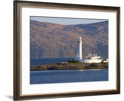Lismore Lighthouse From the Craignure-Oban Ferry, Highlands, Scotland, United Kingdom, Europe-Patrick Dieudonne-Framed Photographic Print