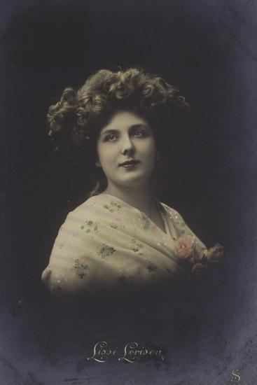 Lissi Lorison, Actress--Photographic Print