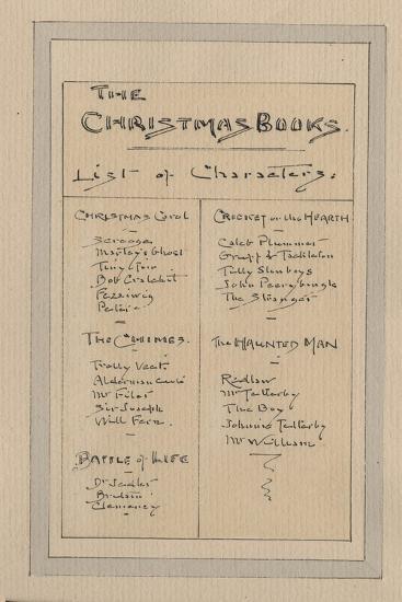 List of Characters, c.1920s-Joseph Clayton Clarke-Giclee Print