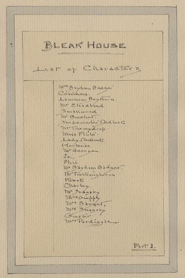 List of Characters, C.1920s-Joseph Clayton Clarke-Giclee Print