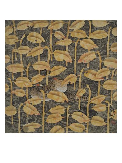 Listen to the Rain, No.2-Yuan Mu-Giclee Print