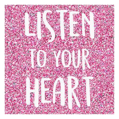 Listen to Your Heart-Kimberly Allen-Art Print