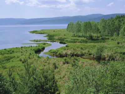 Listvianka, Lake Baikal, Siberia, Russia-Bruno Morandi-Photographic Print