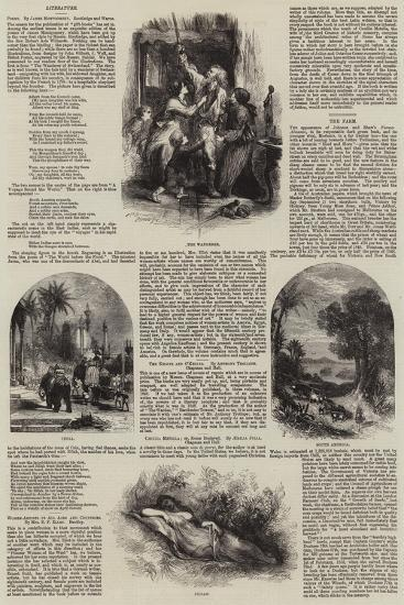 Literary Illustrations--Giclee Print