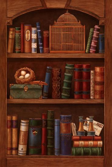 Literature II-Yuriko Takata-Art Print