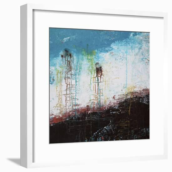 Lithosphere 90-Hilary Winfield-Framed Giclee Print
