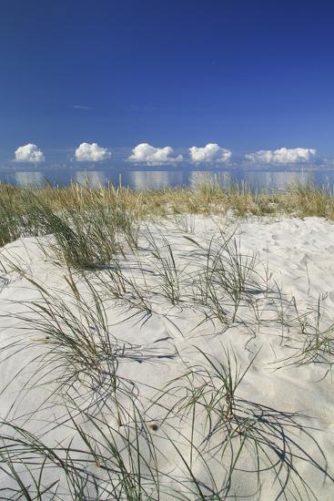 Lithuania, Curonian Spit, the Baltic Sea with Clouds-Catharina Lux-Photographic Print