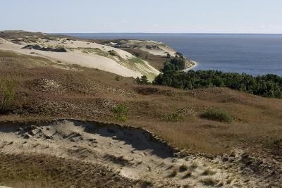 Lithuania, Klaipeda County, Curonian Spit, Vecekrugas, Grey Dune--Giclee Print