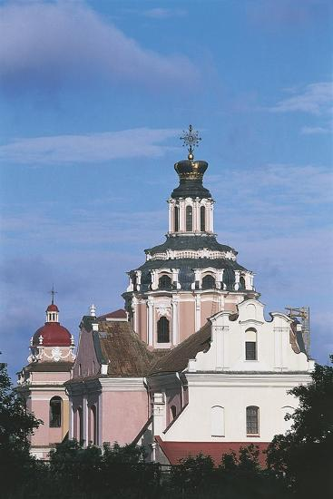 Lithuania - Vilnius - Church of the Holy Heart of Jesus--Giclee Print