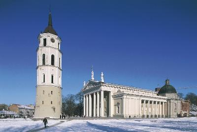 Lithuania, Vilnius, Old Town, Cathedral--Giclee Print