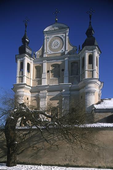 Lithuania, Vilnius, Old Town, St. Michael's Church--Giclee Print