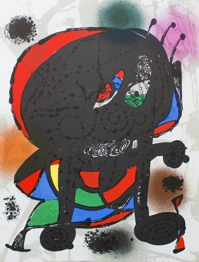 Litografia original III-Joan Mir?-Collectable Print
