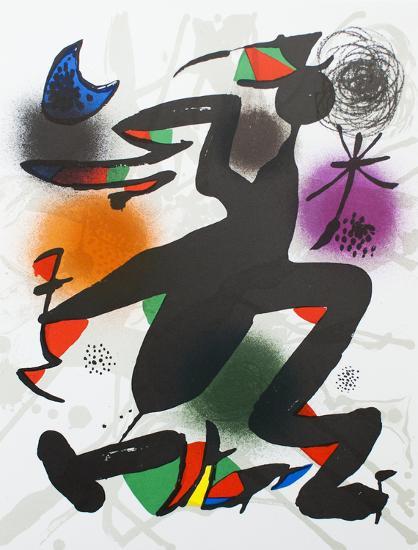Litografia original IV-Joan Miro-Collectable Print