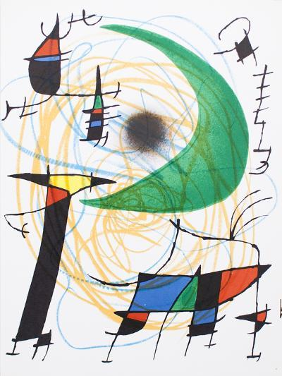 Litografia original V-Joan Mir?-Collectable Print