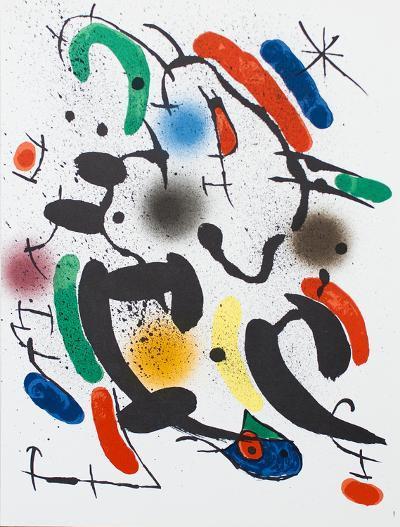 Litografia original VI-Joan Mir?-Collectable Print