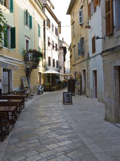 Little Alley in Porec, Istria, Croatia, Europe--Photographic Print
