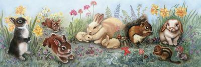 Little Animals Border-Judy Mastrangelo-Giclee Print