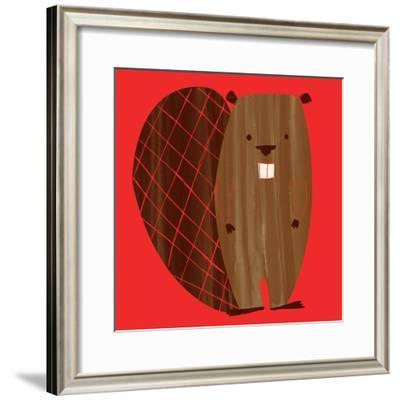 Little Beaver--Framed Giclee Print