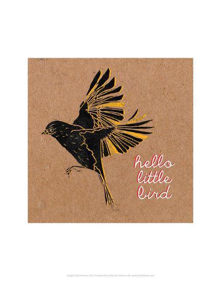 Little Birdie 2-Abigail Gartland-Art Print