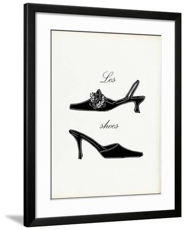 Little Black Shoes-Studio 5-Framed Art Print