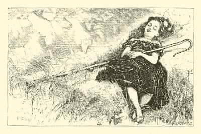 Little Bo-Peep--Giclee Print