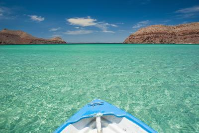 Little Boat in the Turquoise Waters at Isla Espiritu Santo, Baja California, Mexico, North America-Michael Runkel-Photographic Print
